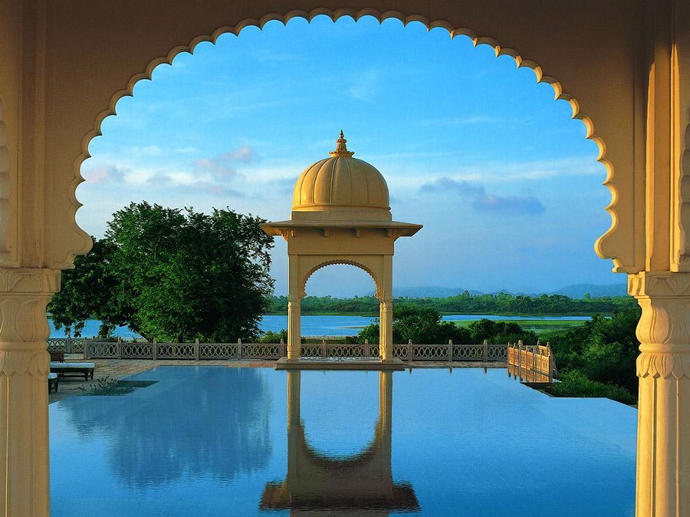 OberoiUdaivilas04 Самый шикарный отель в Индии