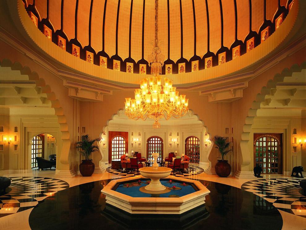 OberoiUdaivilas05 Самый шикарный отель в Индии