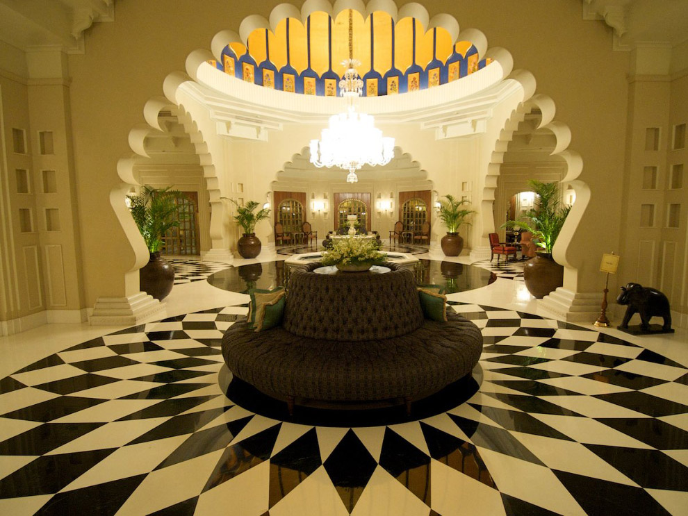 OberoiUdaivilas06 Самый шикарный отель в Индии