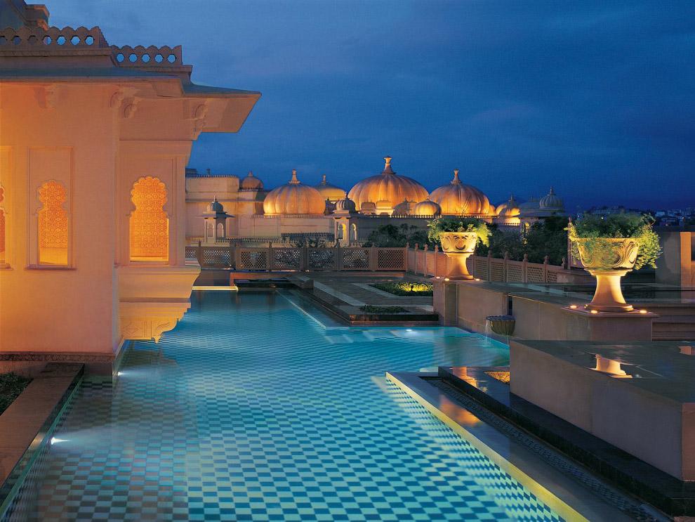 OberoiUdaivilas09 Самый шикарный отель в Индии