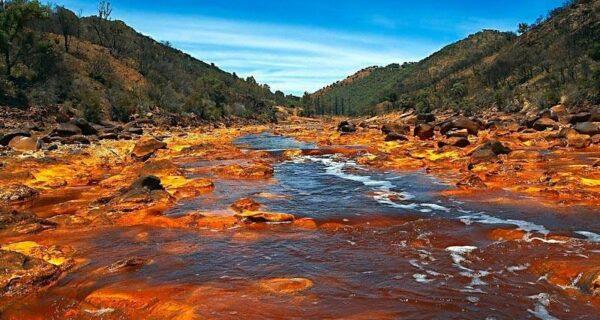 Рио Тинта: «марсианская» река наЗемле