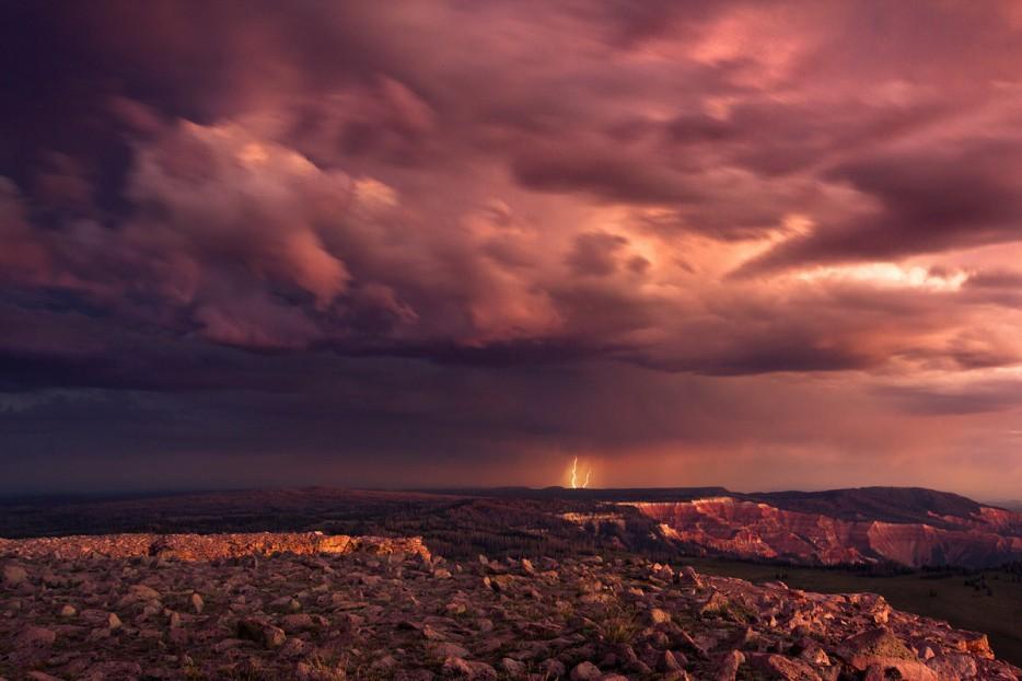 Thunderstorms13 35 прекрасных фото, демонстрирующих мощь и красоту стихии