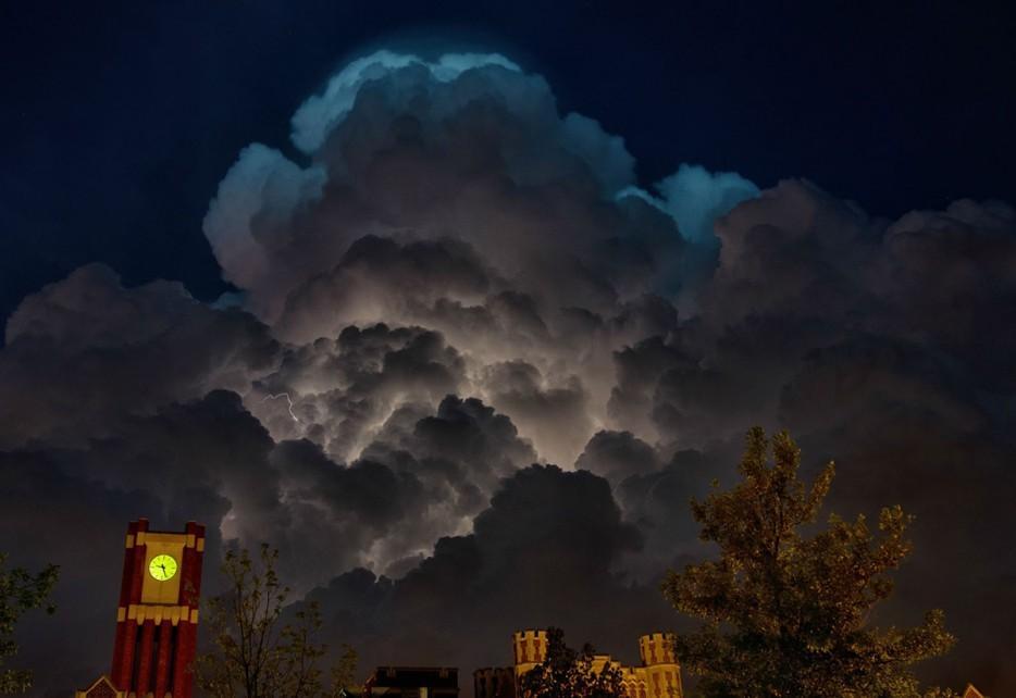 Thunderstorms19 35 прекрасных фото, демонстрирующих мощь и красоту стихии