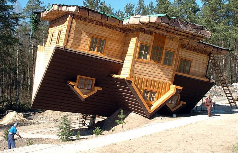 amazinghouses13 18 потрясающих и пугающих домов