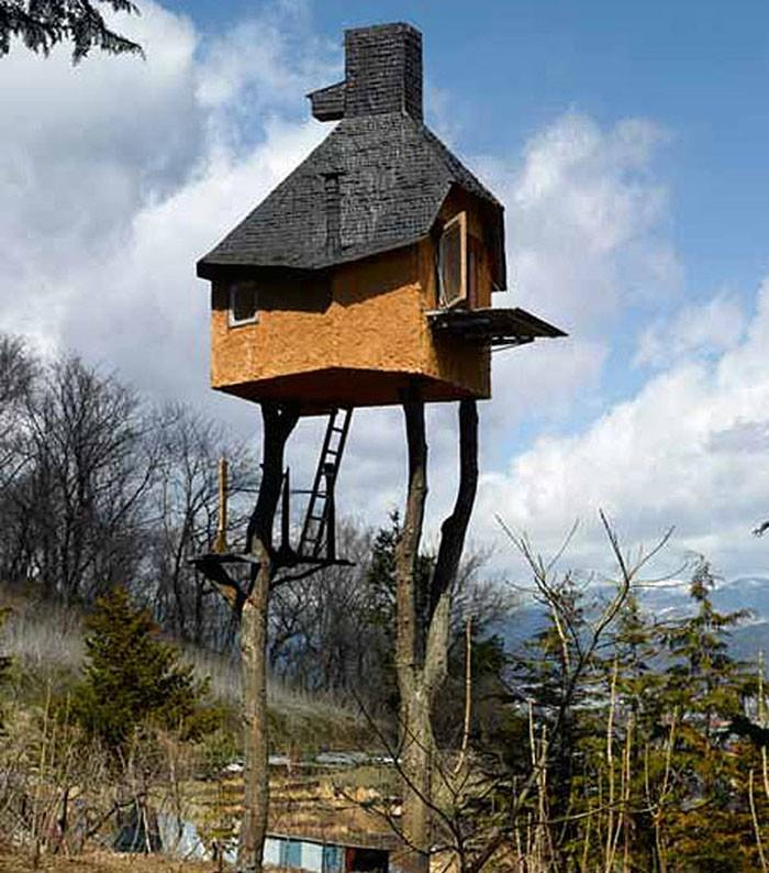 amazinghouses14 18 потрясающих и пугающих домов