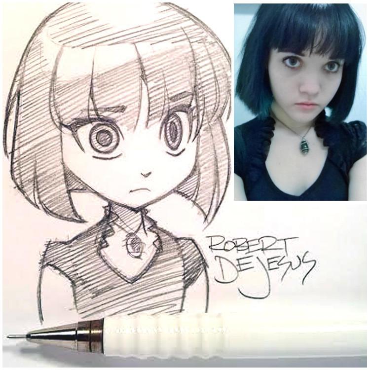 anime05 Аниме персонажи из реальных людей