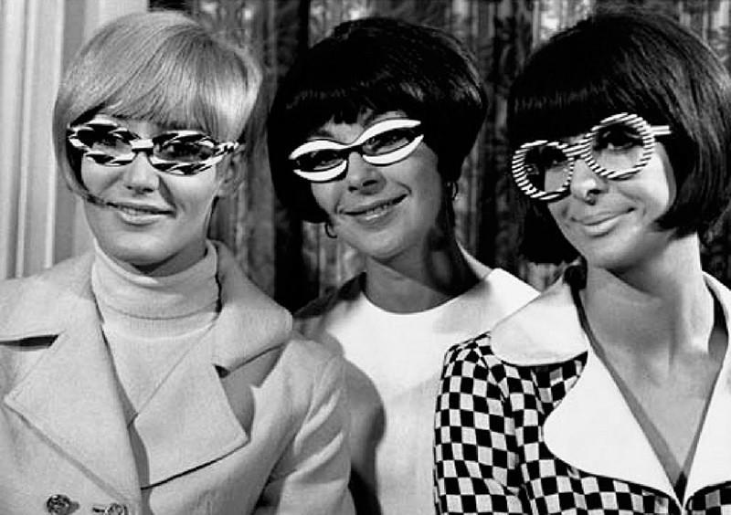 очки, 60е