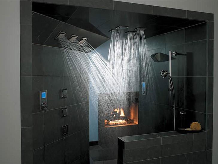 showers19 28 уникальных душевых комнат со всего света