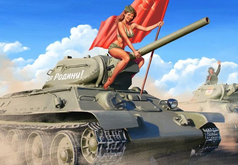 sovietpinup25 Потрясающий советский пин ап