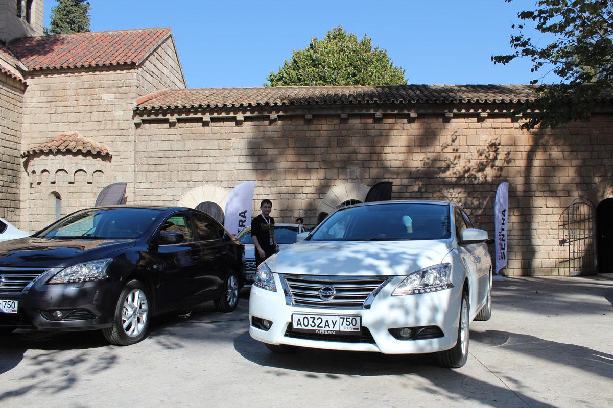 0713 Nissan Sentra — комфорт и безопасность