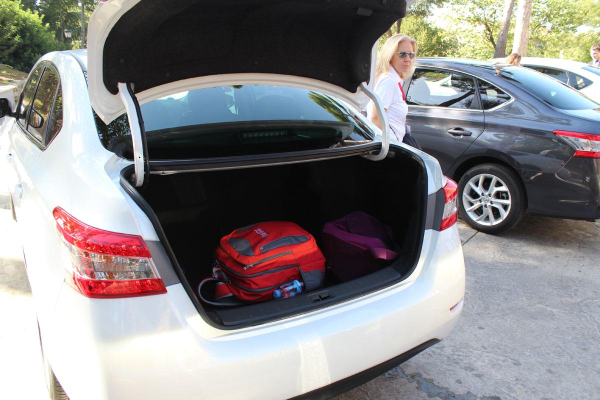 38 Nissan Sentra — комфорт и безопасность