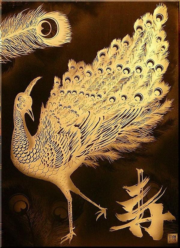 AkiraNagaya22 Резьба по бумаге японского мастера Акира Нагая