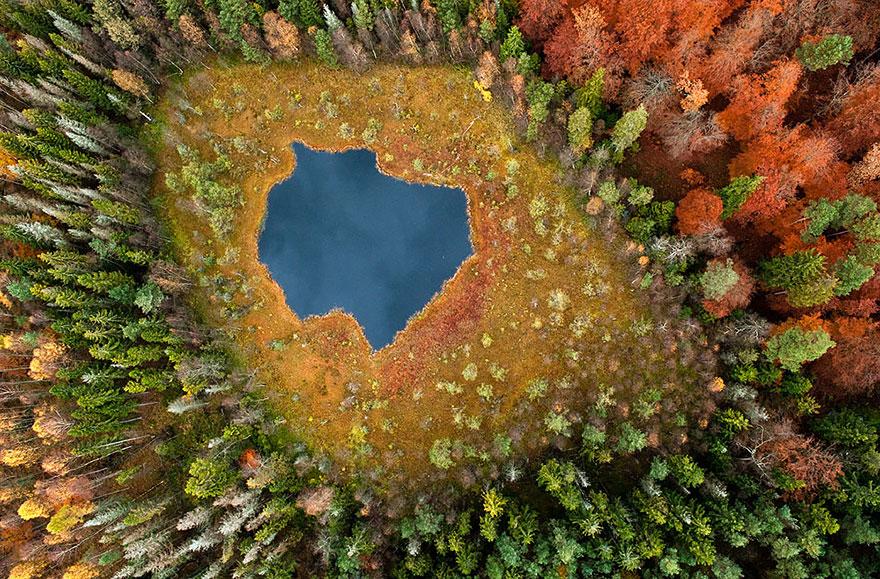 AutumnTransformation09 Чудесная дюжина удивительно красивых осенних превращений