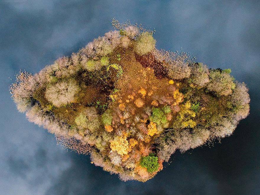 AutumnTransformation17 Чудесная дюжина удивительно красивых осенних превращений