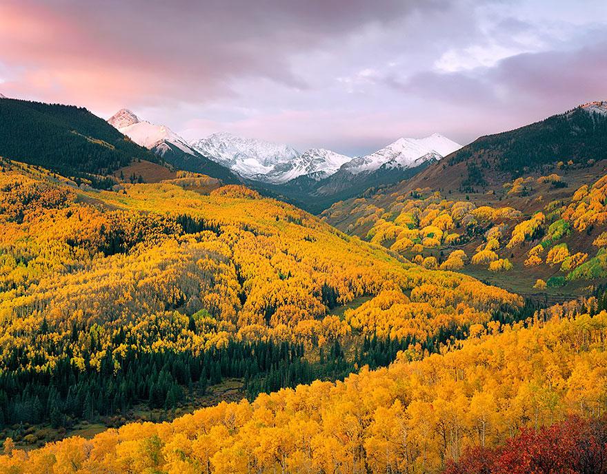AutumnTransformation19 Чудесная дюжина удивительно красивых осенних превращений