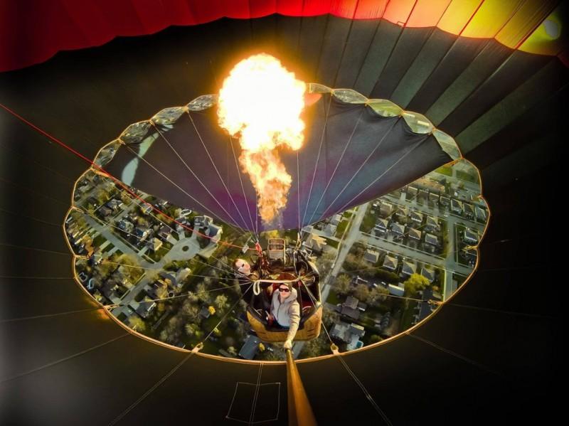 BalloonFestivals25 800x599 Самые зрелищные фестивали воздушных шаров