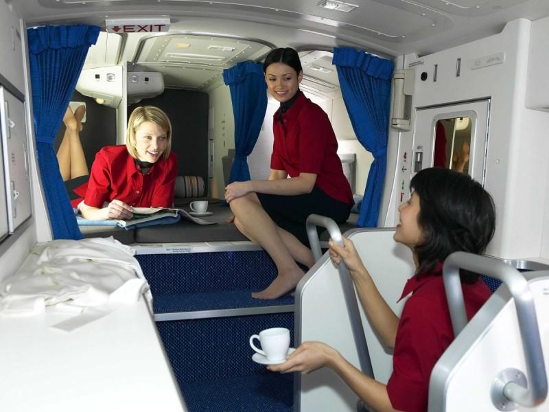 Boeingrestroom01 800x600 Тайная комната в пассажирских Боингах