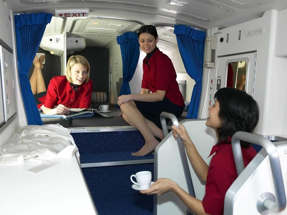 Boeingrestroom01 Тайная комната в пассажирских Боингах