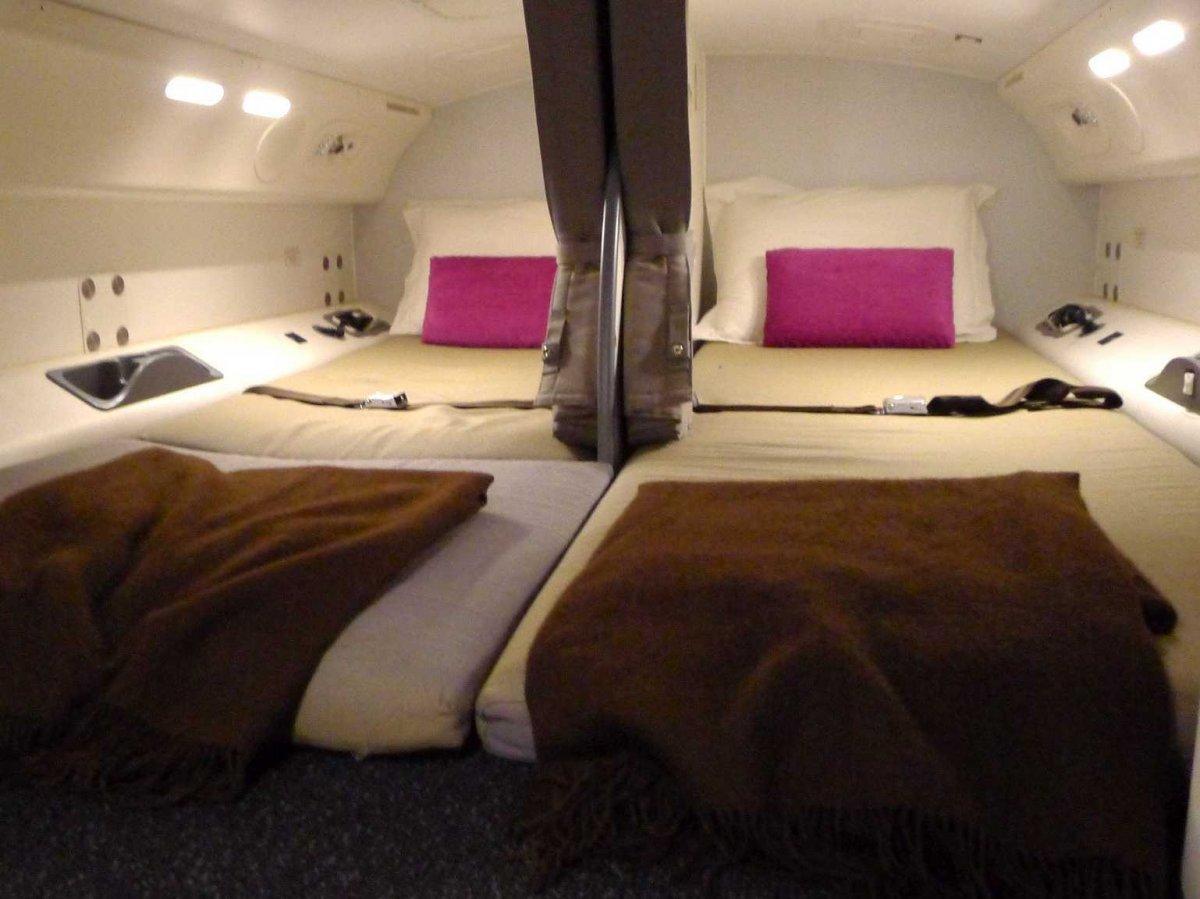 Boeingrestroom07 Тайная комната в пассажирских Боингах
