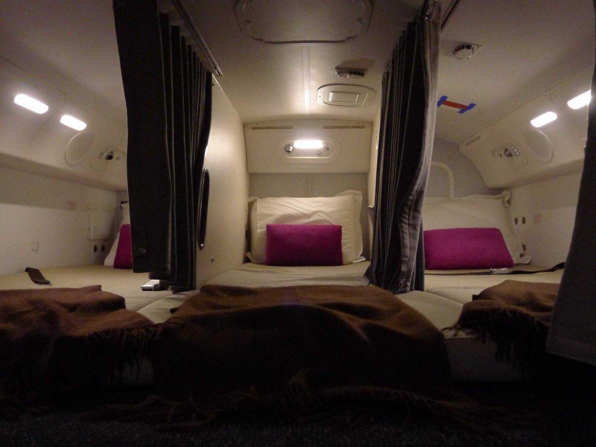 Boeingrestroom08 Тайная комната в пассажирских Боингах