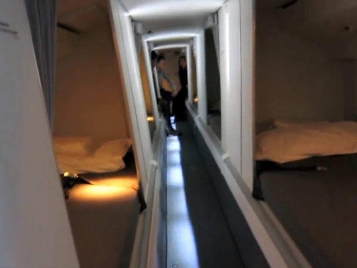 Boeingrestroom10 Тайная комната в пассажирских Боингах