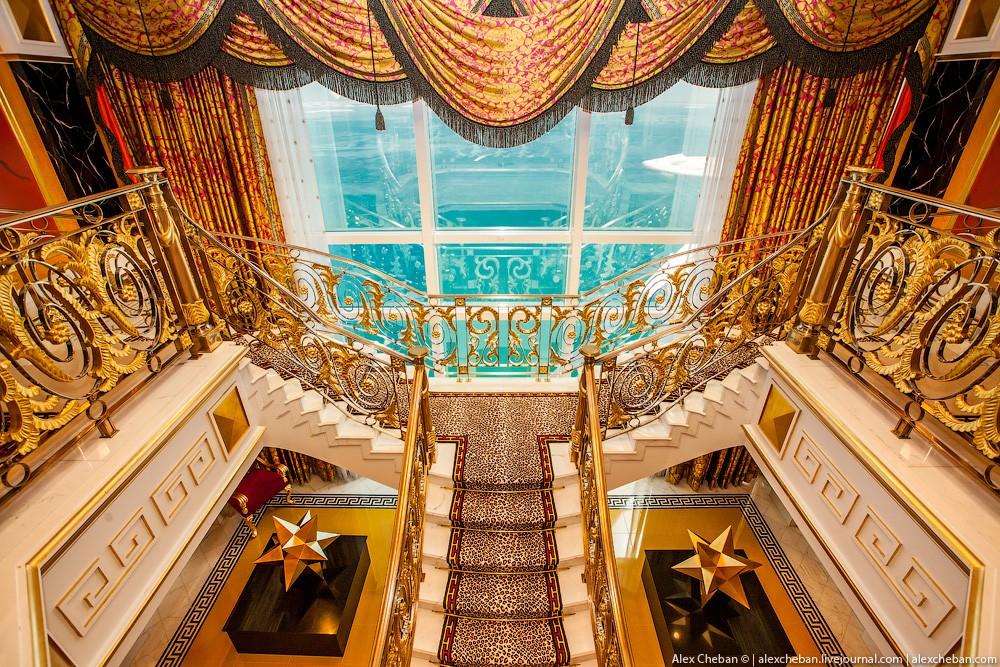 BurjAlArab01 ouro para xeques e oligarcas: o quarto mais caro no hotel Burj Al Arab sete estrelas