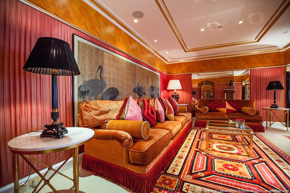 BurjAlArab13 ouro para xeques e oligarcas: o quarto mais caro no hotel Burj Al Arab sete estrelas