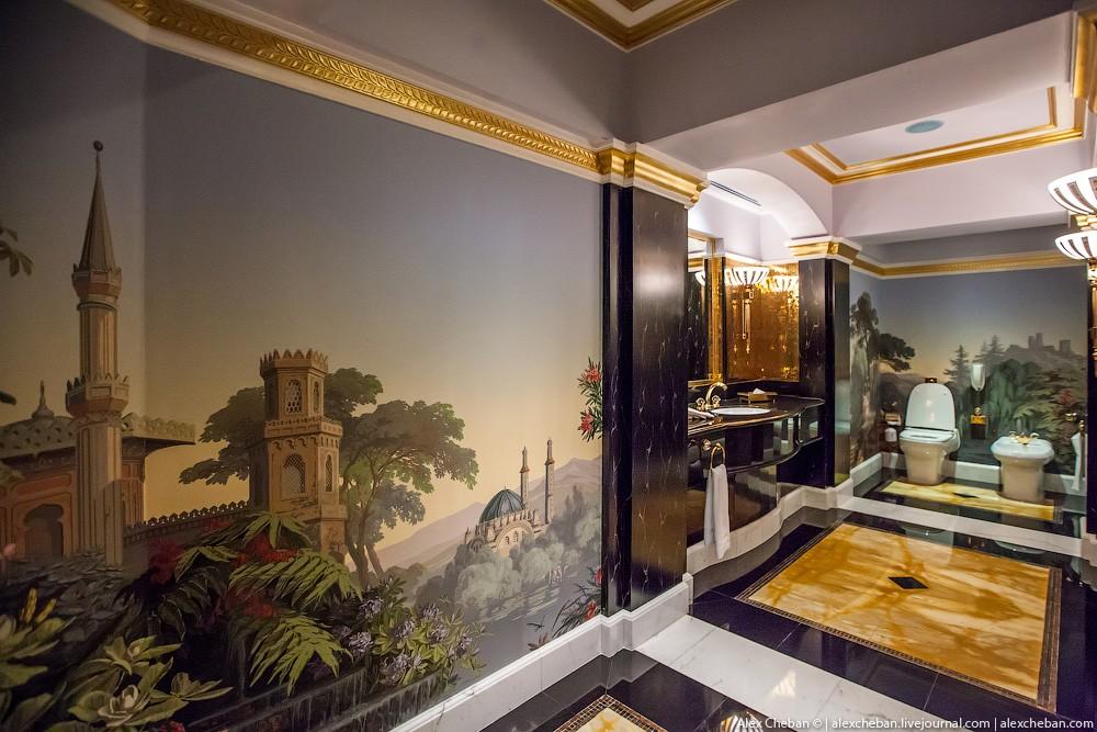 BurjAlArab14 ouro para xeques e oligarcas: o quarto mais caro no hotel Burj Al Arab sete estrelas