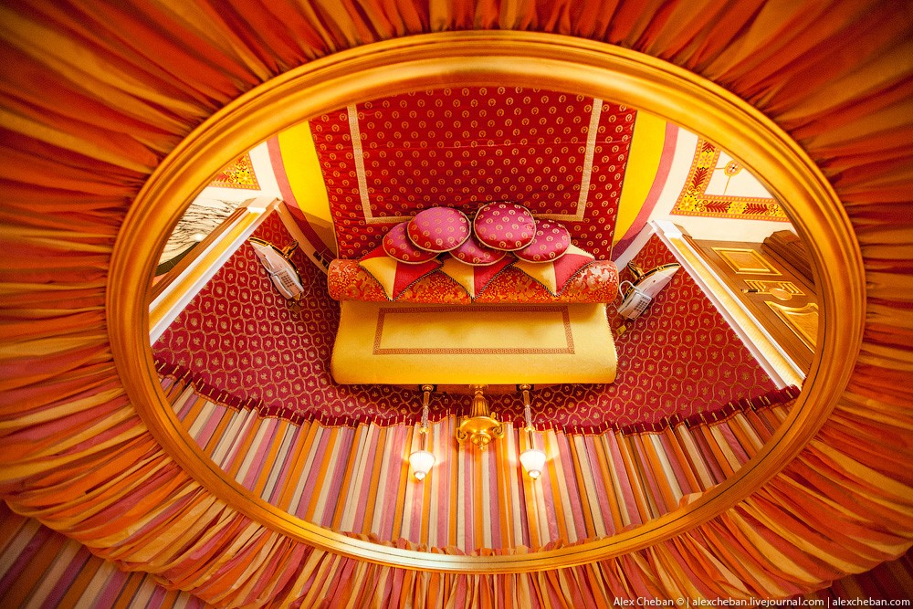 BurjAlArab25 ouro para xeques e oligarcas: o quarto mais caro no hotel Burj Al Arab sete estrelas