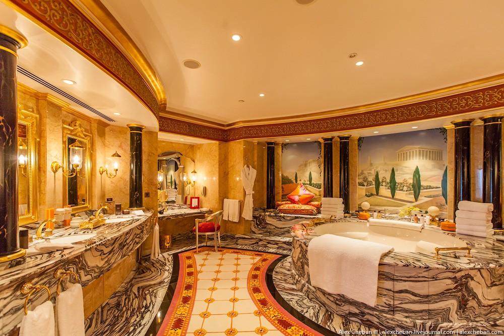 BurjAlArab26 ouro para xeques e oligarcas: o quarto mais caro no hotel Burj Al Arab sete estrelas