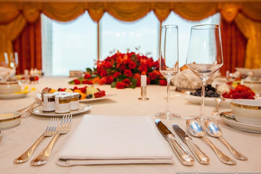 BurjAlArab44 ouro para xeques e oligarcas: o quarto mais caro no hotel Burj Al Arab sete estrelas