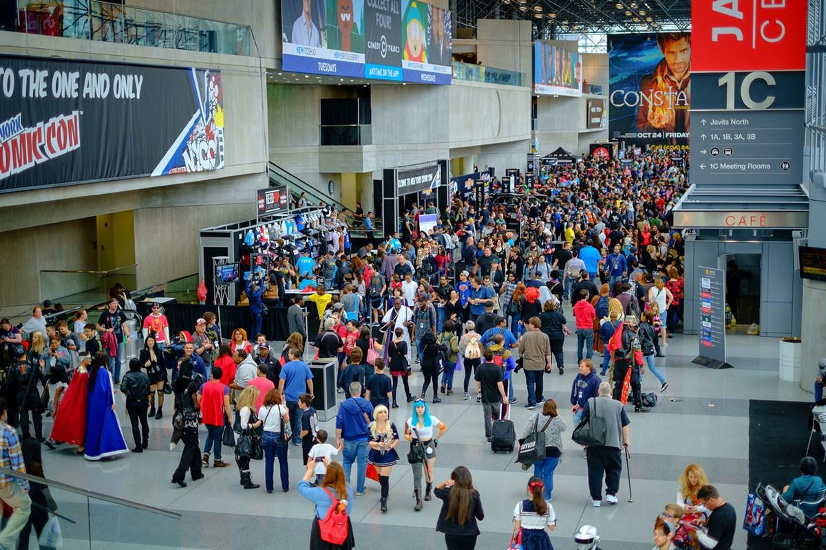 ComicCon03 Comic Con 2014 в Нью Йорке
