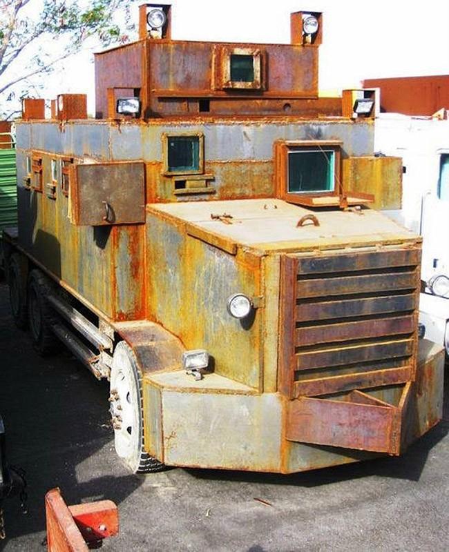 MXdrugwar02 «Боевые машины» мексиканской нарковойны
