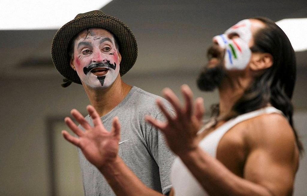 Norco08 Театральный мастер класс в тюрьме