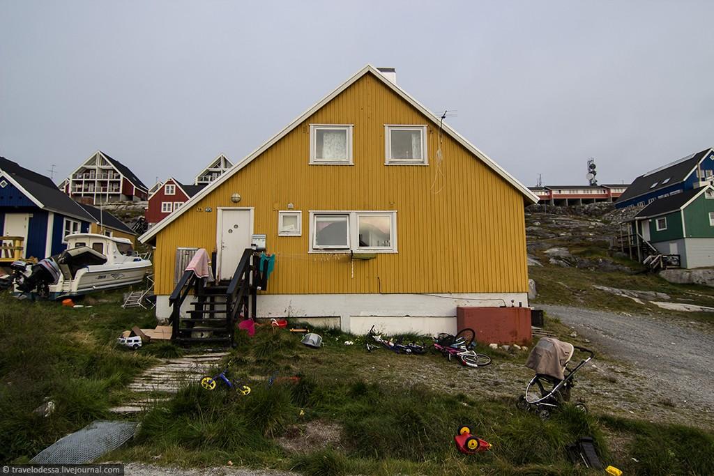 Nuuk09 Спальный район Нуука. Как живут люди в Гренландии