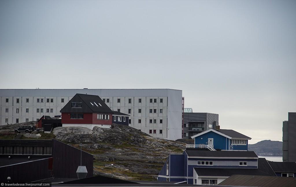 Nuuk14 Спальный район Нуука. Как живут люди в Гренландии