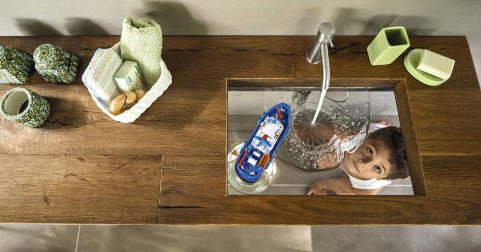 StylishSinks01 26 самых красивых и стильных раковин, которые украсят любой дом
