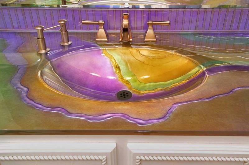 StylishSinks21 800x532 26 самых красивых и стильных раковин, которые украсят любой дом