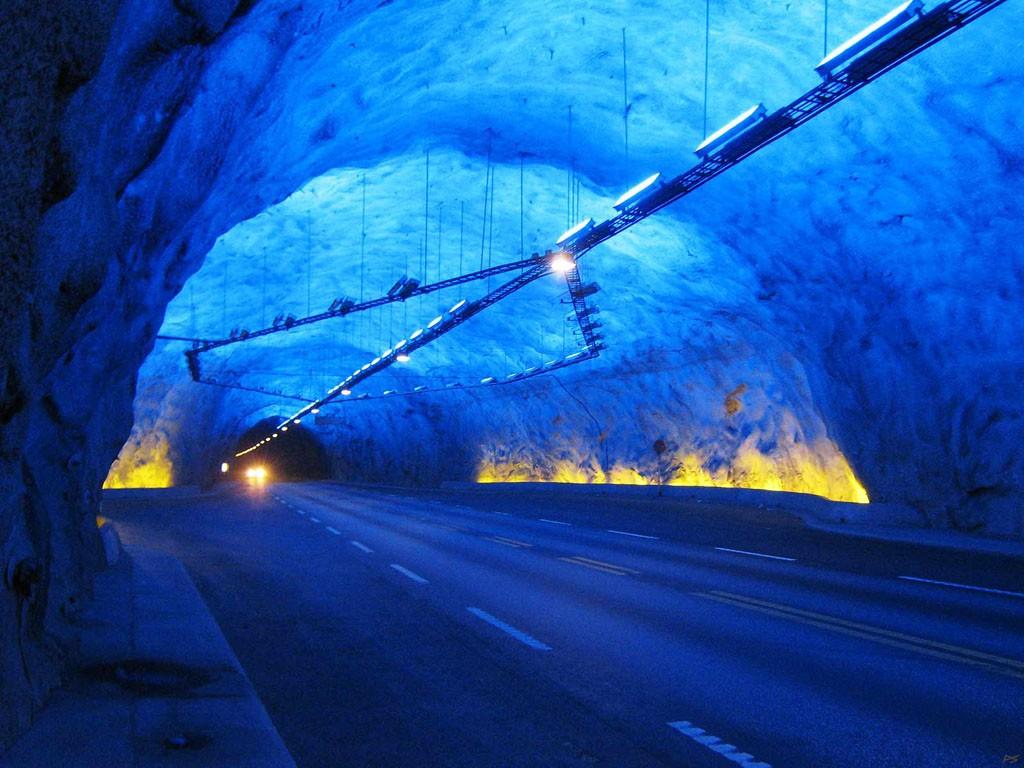 Tonnels02 Самые необычные транспортные тоннели