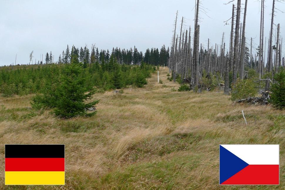 borders31 Самые необычные границы, которые наглядно демонстрируют политику государств