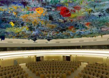 3. Зал прав человека и альянса цивилизаций ООН в Женеве, Швейцария.