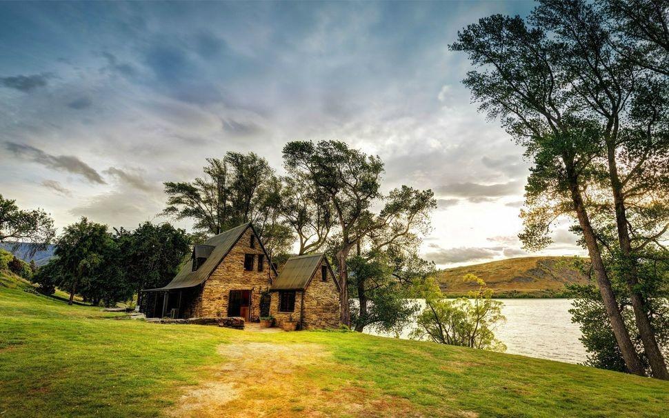 lonelyhouses17 Потрясающие дома, построенные вдали от цивилизации