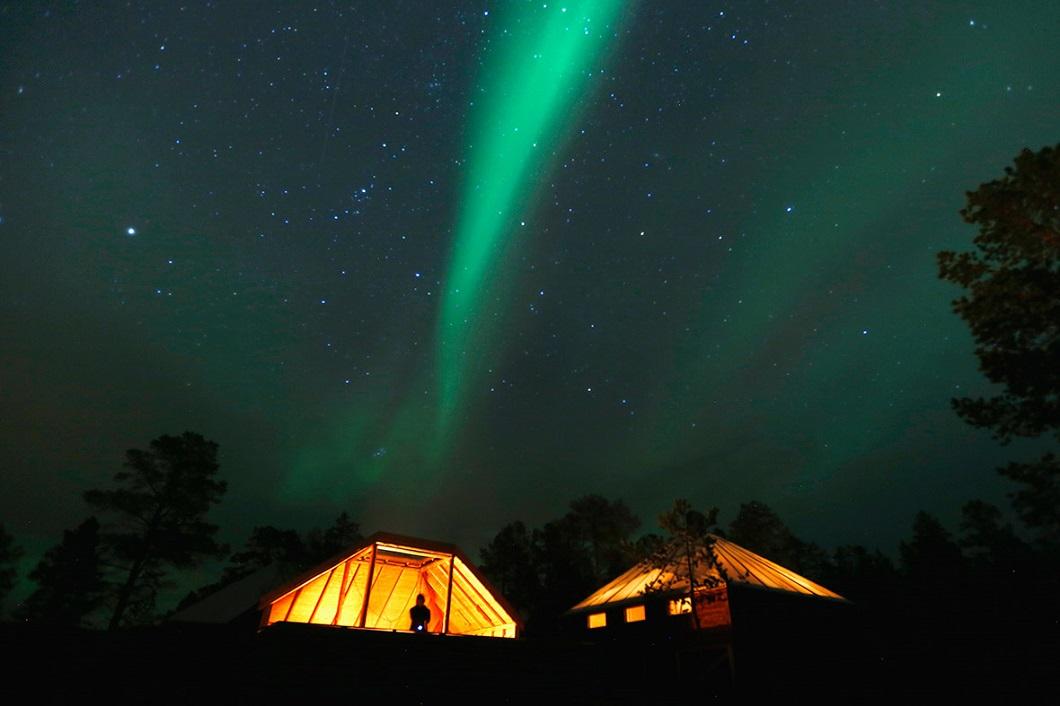 severnoe siyanie v norvegii 5 Северное сияние в Норвегии