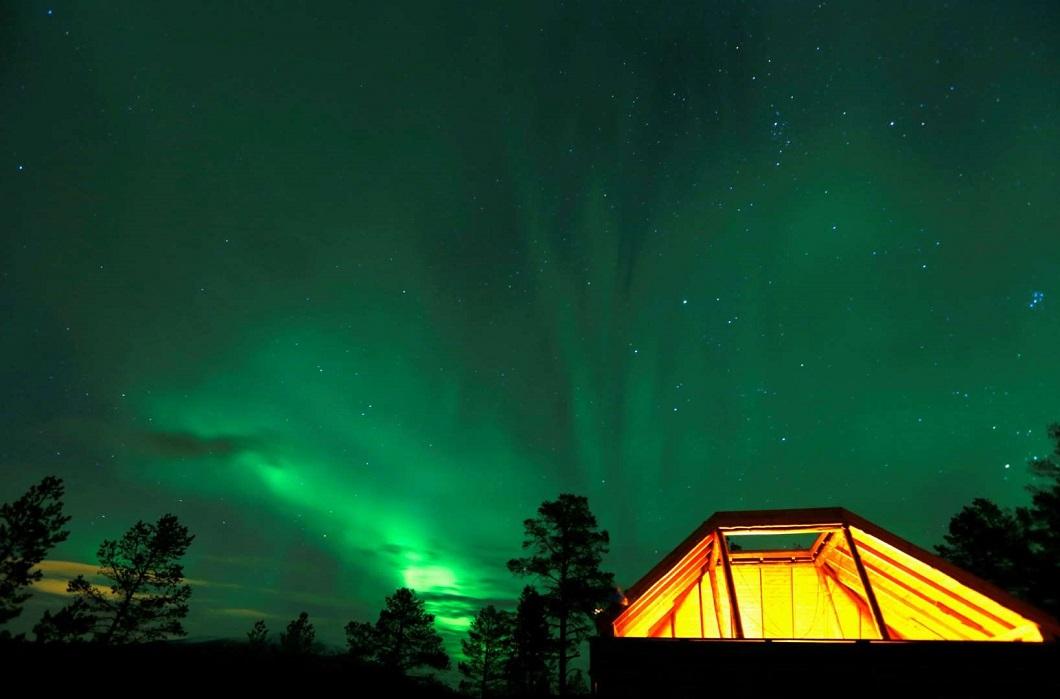 severnoe siyanie v norvegii 9 Северное сияние в Норвегии
