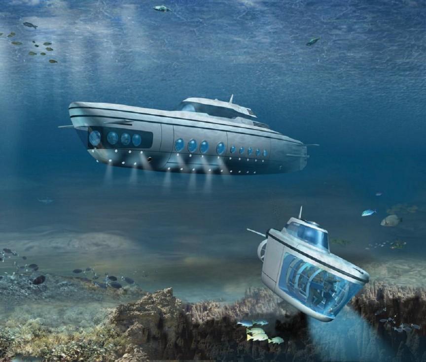 submarines09 10 самых эксклюзивных частных подводных лодок