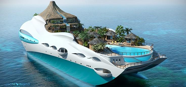 superyachts01 10 потрясающих «суперъяхт» будущего