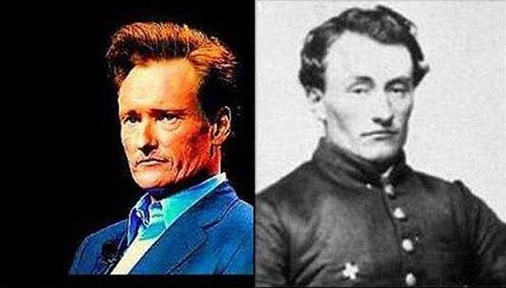 tweedledum04 Поразительное сходство голливудских знаменитостей и их исторических двойников