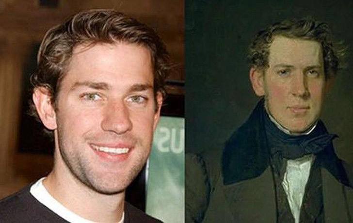 tweedledum06 Поразительное сходство голливудских знаменитостей и их исторических двойников