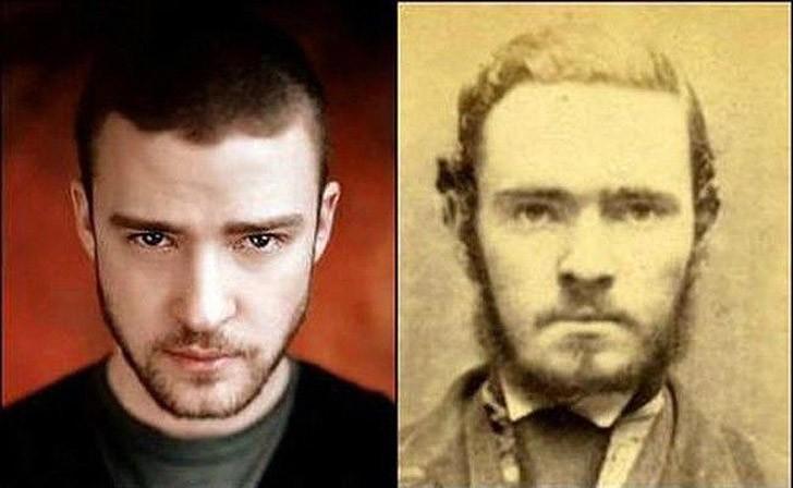 tweedledum08 Поразительное сходство голливудских знаменитостей и их исторических двойников