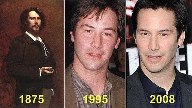 tweedledum10 Поразительное сходство голливудских знаменитостей и их исторических двойников